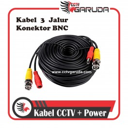 KABEL CCTV + POWER