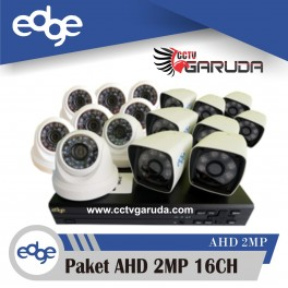 Paket Edge Full HD 2MP 16CH