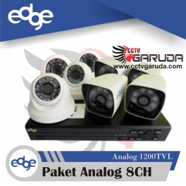 PAKET EDGE ANALOG 8CH (UNIT)