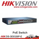 PoE Switch Hikvision DS-3E0326P-E