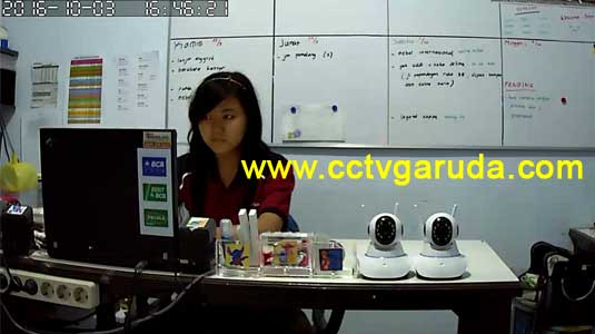 hasil ip camera wireless