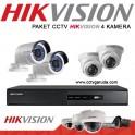 PAKET 4 KAMERA HD HIKVISION CCTV SEMARANG