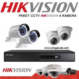 PAKET CCTV HIKVISION 4 KAMERA