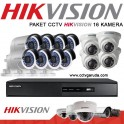 PAKET CCTV HIKVISION 16 KAMERA