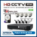 PAKET CCTV AVTECH HDTVI 8CH