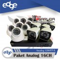 PAKET EDGE ANALOG 16CH (UNIT)